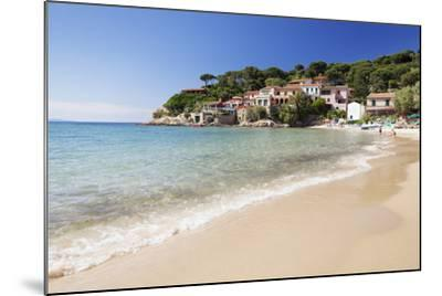 Beach at Scaglieri Bay, Island of Elba, Livorno Province, Tuscany, Italy-Markus Lange-Mounted Photographic Print