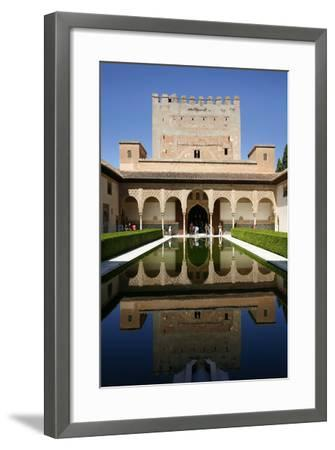 Palacio De Comares, One of the Three Palaces That Forms the Palacio Nazaries, Alhambra-Yadid Levy-Framed Photographic Print