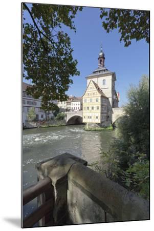 Old Town Hall, UNESCO World Heritage Site, Regnitz River, Bamberg, Franconia, Bavaria, Germany-Markus Lange-Mounted Photographic Print