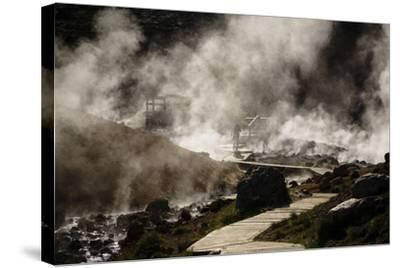 Geothermal Fields at Krysuvik, Reykjanes Peninsula, Iceland, Polar Regions-Yadid Levy-Stretched Canvas Print