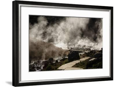 Geothermal Fields at Krysuvik, Reykjanes Peninsula, Iceland, Polar Regions-Yadid Levy-Framed Photographic Print
