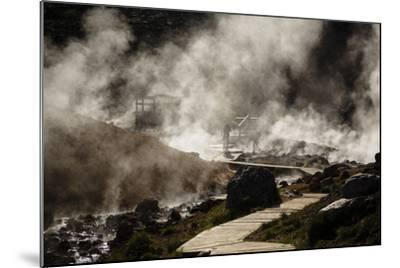 Geothermal Fields at Krysuvik, Reykjanes Peninsula, Iceland, Polar Regions-Yadid Levy-Mounted Photographic Print