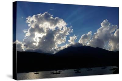 Clouds Near Nidri, Lefkada (Lefkas), Greek Islands, Ionian Sea, Greece-Robert Harding-Stretched Canvas Print
