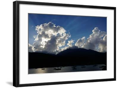 Clouds Near Nidri, Lefkada (Lefkas), Greek Islands, Ionian Sea, Greece-Robert Harding-Framed Photographic Print