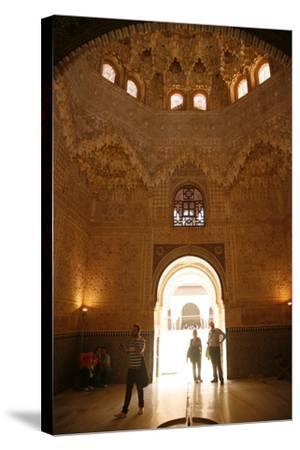 Palacio De Los Leones, One of the Three Palaces That Forms the Palacio Nazaries, Alhambra-Yadid Levy-Stretched Canvas Print