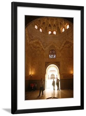 Palacio De Los Leones, One of the Three Palaces That Forms the Palacio Nazaries, Alhambra-Yadid Levy-Framed Photographic Print