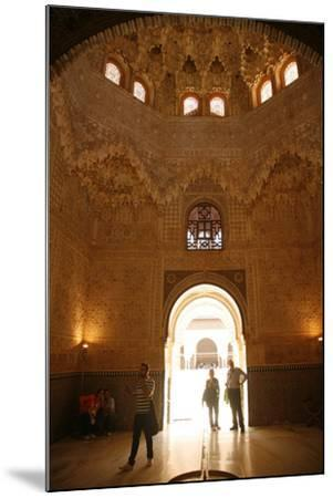 Palacio De Los Leones, One of the Three Palaces That Forms the Palacio Nazaries, Alhambra-Yadid Levy-Mounted Photographic Print