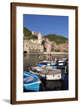 Vernazza, Cinque Terre, UNESCO World Heritage Site, Liguria, Italy, Europe-Gavin Hellier-Framed Photographic Print