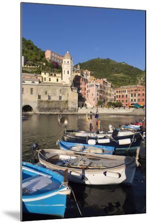 Vernazza, Cinque Terre, UNESCO World Heritage Site, Liguria, Italy, Europe-Gavin Hellier-Mounted Photographic Print
