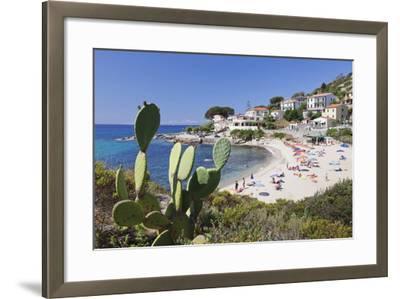 Beach of Seccheto, Island of Elba, Livorno Province, Tuscany, Italy-Markus Lange-Framed Photographic Print