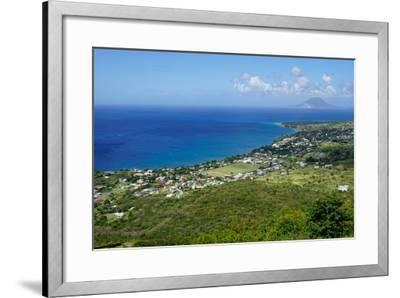 View from Brimstone Hill Fortress-Robert Harding-Framed Photographic Print