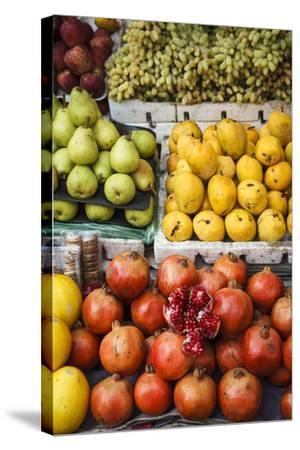 Detail of Fruits at Mapusa Market, Goa, India, Asia-Yadid Levy-Stretched Canvas Print