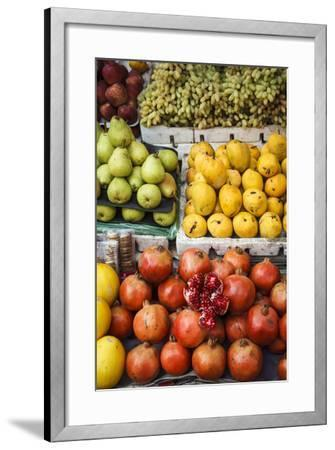 Detail of Fruits at Mapusa Market, Goa, India, Asia-Yadid Levy-Framed Photographic Print