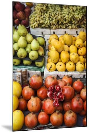 Detail of Fruits at Mapusa Market, Goa, India, Asia-Yadid Levy-Mounted Photographic Print