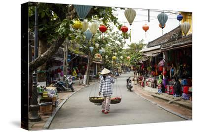 Street Scene, Hoi An, Vietnam, Indochina, Southeast Asia, Asia-Yadid Levy-Stretched Canvas Print