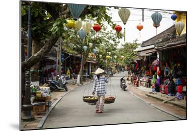 Street Scene, Hoi An, Vietnam, Indochina, Southeast Asia, Asia-Yadid Levy-Mounted Photographic Print