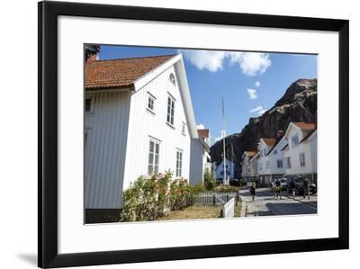 Houses in Fjallbacka, Bohuslan Region, West Coast, Sweden, Scandinavia, Europe-Yadid Levy-Framed Photographic Print