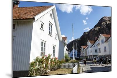 Houses in Fjallbacka, Bohuslan Region, West Coast, Sweden, Scandinavia, Europe-Yadid Levy-Mounted Photographic Print