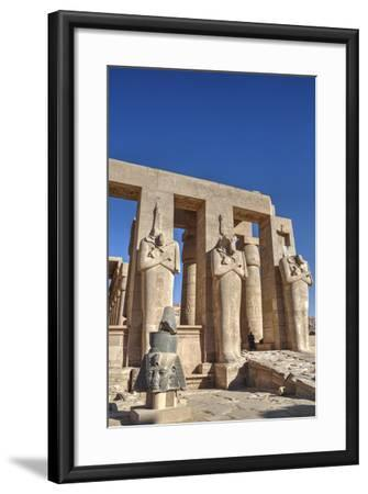 Hypostyle Hall, the Ramesseum (Mortuary Temple of Ramese Ii), Luxor-Richard Maschmeyer-Framed Photographic Print