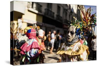 International Festival Iberian Mask, Lisbon, Portugal-Ben Pipe-Stretched Canvas Print