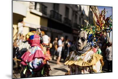 International Festival Iberian Mask, Lisbon, Portugal-Ben Pipe-Mounted Photographic Print