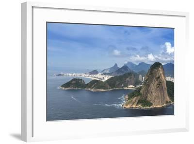 Aerial View of the Sugar Loaf-Alex Robinson-Framed Photographic Print