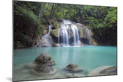 Erawan Falls, Kanchanaburi, Thailand, Southeast Asia, Asia-Alex Robinson-Mounted Photographic Print
