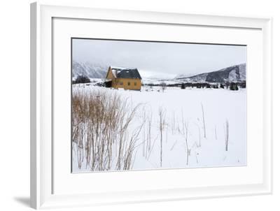 Fornes, Vesteralen Islands, Arctic, Norway, Scandinavia-Sergio Pitamitz-Framed Photographic Print