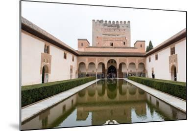 Patio De Arrayanes, Palacios Nazaries, the Alhambra, Granada, Andalucia, Spain-Carlo Morucchio-Mounted Photographic Print