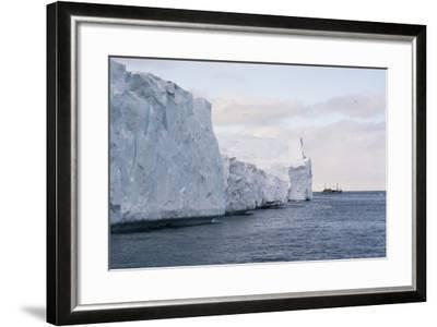Icebergs in Ilulissat Icefjord, Greenland, Denmark, Polar Regions-Sergio Pitamitz-Framed Photographic Print