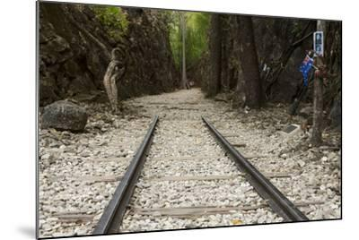 Hellfire Pass Museum, on the Infamous Thai-Burmese Death Railway-Alex Robinson-Mounted Photographic Print