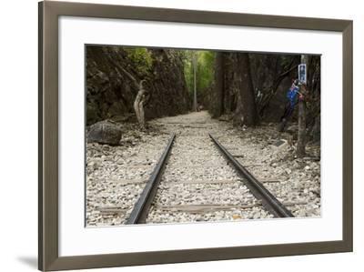 Hellfire Pass Museum, on the Infamous Thai-Burmese Death Railway-Alex Robinson-Framed Photographic Print