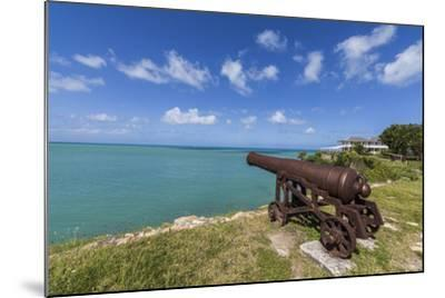 A Cannon Dating from the 17th Century, Fort James, Antigua, Leeward Islands, West Indies-Roberto Moiola-Mounted Photographic Print