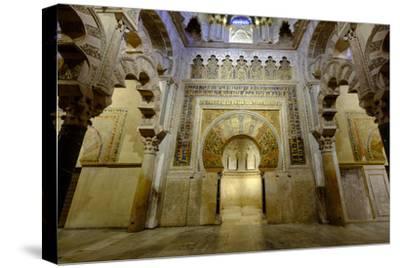 The Mezquita of Cordoba, Andalucia, Spain-Carlo Morucchio-Stretched Canvas Print