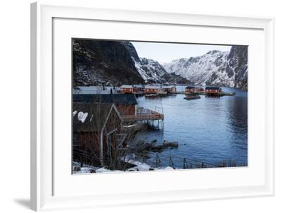 Nusfjord, Lofoten Islands, Arctic, Norway, Scandinavia-Sergio Pitamitz-Framed Photographic Print