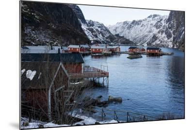 Nusfjord, Lofoten Islands, Arctic, Norway, Scandinavia-Sergio Pitamitz-Mounted Photographic Print