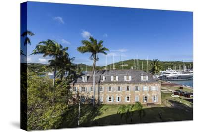 View of Fort James, the Main Historic Building of Antigua-Roberto Moiola-Stretched Canvas Print