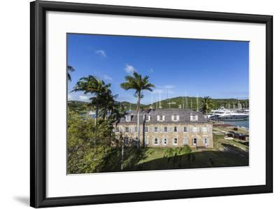 View of Fort James, the Main Historic Building of Antigua-Roberto Moiola-Framed Photographic Print