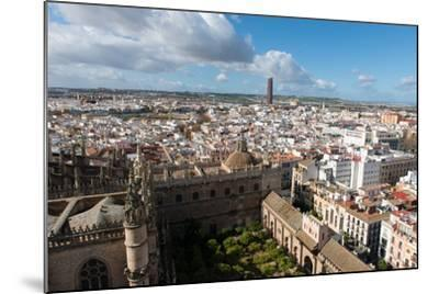 View of Seville from Giralda Bell Tower, Seville, Andalucia, Spain-Carlo Morucchio-Mounted Photographic Print