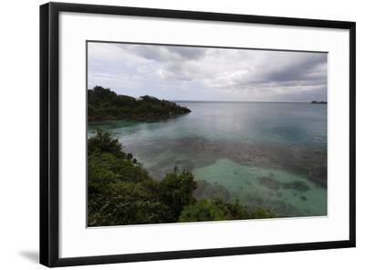 Discovery Bay, Where Christopher Columbus Landed, Ocho Rios-Sergio Pitamitz-Framed Photographic Print
