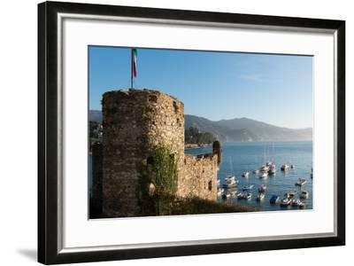 The 16th Century Castle, Santa Margherita Ligure, Genova (Genoa), Liguria, Italy, Europe-Carlo Morucchio-Framed Photographic Print