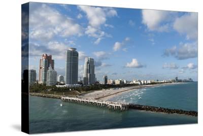 South Beach, Miami Beach, Florida, United States of America, North America-Sergio Pitamitz-Stretched Canvas Print