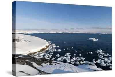 A View of Ilulissat Icefjord, Greenland, Denmark, Polar Regions-Sergio Pitamitz-Stretched Canvas Print