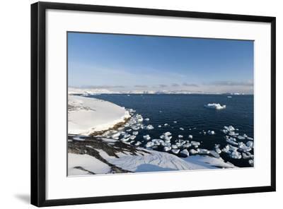 A View of Ilulissat Icefjord, Greenland, Denmark, Polar Regions-Sergio Pitamitz-Framed Photographic Print