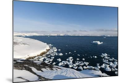 A View of Ilulissat Icefjord, Greenland, Denmark, Polar Regions-Sergio Pitamitz-Mounted Photographic Print