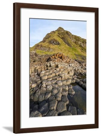 The Giants Causeway, County Antrim, Ulster, Northern Ireland, United Kingdom-Michael Runkel-Framed Photographic Print