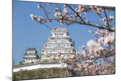 Himeji Castle, Himeji, Kansai, Honshu, Japan-Ian Trower-Mounted Photographic Print