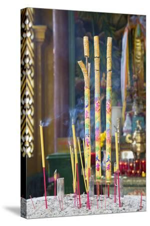 Phuoc an Hoi Quan Pagoda, Cholon, Ho Chi Minh City, Vietnam, Indochina, Southeast Asia, Asia-Ian Trower-Stretched Canvas Print