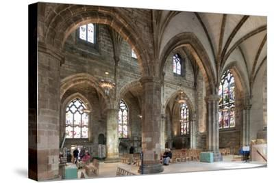 Interior Looking Northeast, St. Giles' Cathedral, Edinburgh, Scotland, United Kingdom-Nick Servian-Stretched Canvas Print