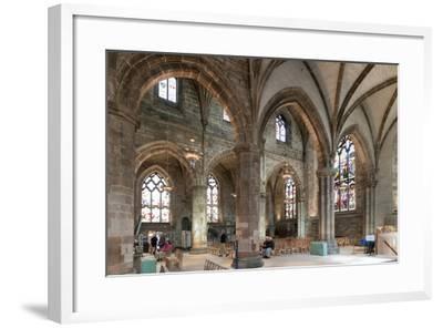 Interior Looking Northeast, St. Giles' Cathedral, Edinburgh, Scotland, United Kingdom-Nick Servian-Framed Photographic Print